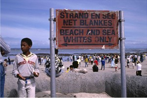 Mass protest for open beaches at Strand beach.